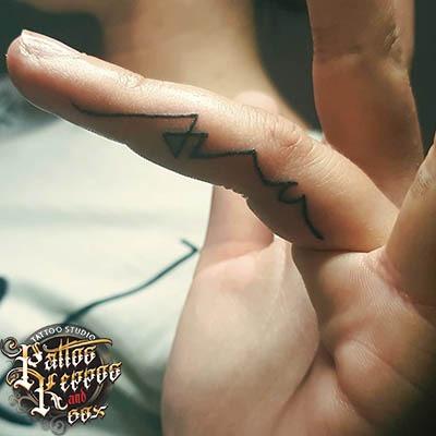 Fingertattoo Tattoo Studio Wien Pattos Keppos