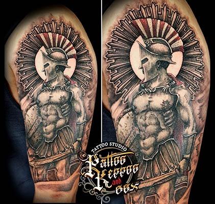 Schulterlot Tattoo Tattoo Studio Wien Pattos Keppos