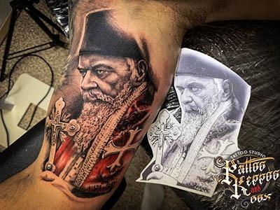 Tattoo Studio Wien Pattos Keppos religiös tattoo