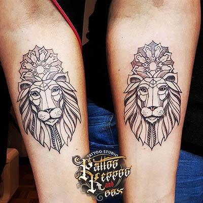 bestes löwentattoo in wien Tattoo Studio Wien Pattos Keppos