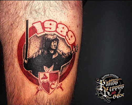roter Stern Tattoo Studio Wien Pattos Keppos and gox