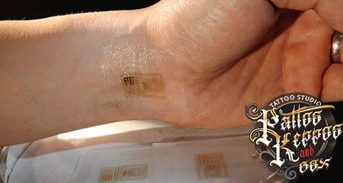 Smart Tattoos? Tattoos, die mit einem Computer kommunizieren kö