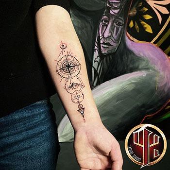 Löwenarm Tattoo Tattoo Studio Pattos Keppos Wien Vienna post