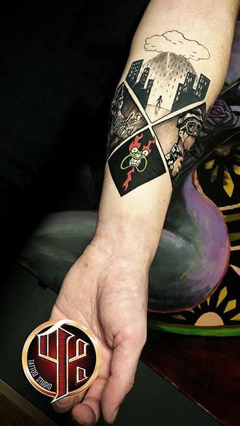 Löwenarm Tattoo Tattoo Studio Pattos Keppos Wien Vienna story