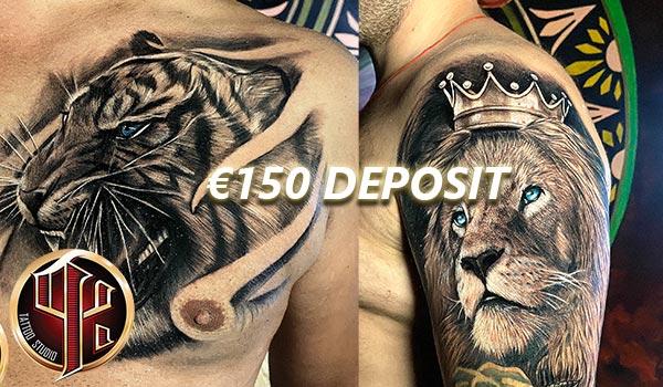 Tattoo Studio Wien Pattos Keppos deposit