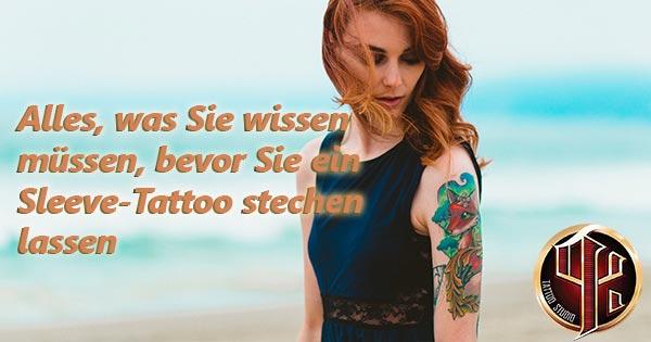 Alles, was Sie wissen müssen, bevor Sie ein Sleeve-Tattoo stech